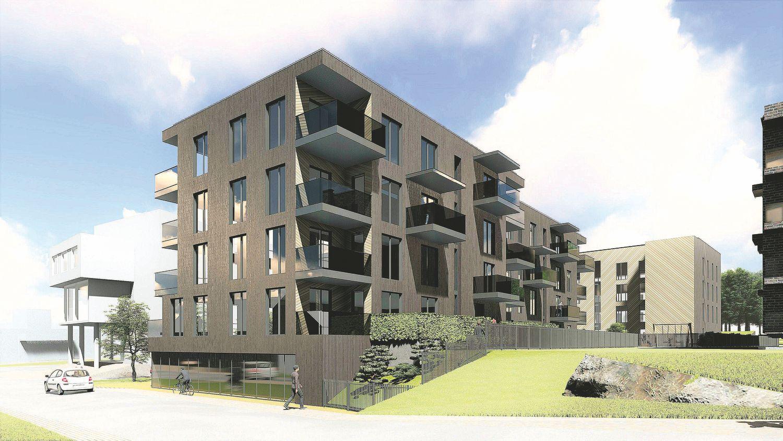 Vilniaus Žvėryne planuoja butų ir biurų kompleksą