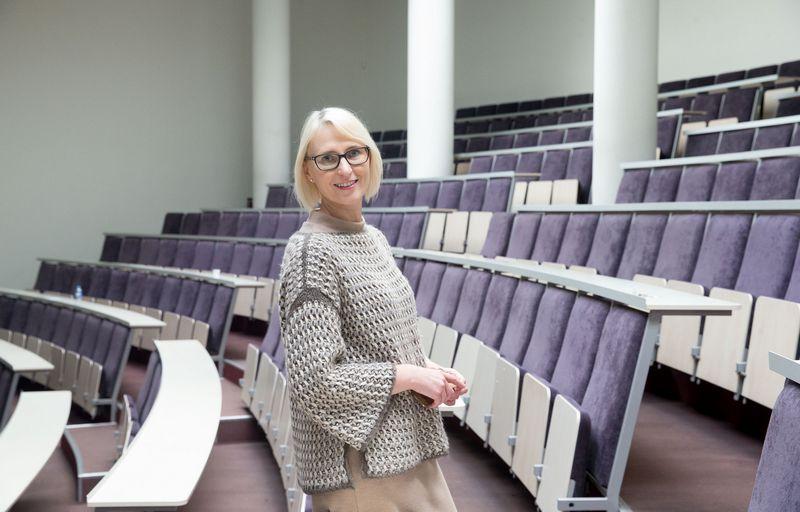 Rasa Pilkauskaitė-Valickienė, Mykolo Romerio universiteto Psichologijos instituto profesorė. Juditos Grigelytės (VŽ) nuotr.