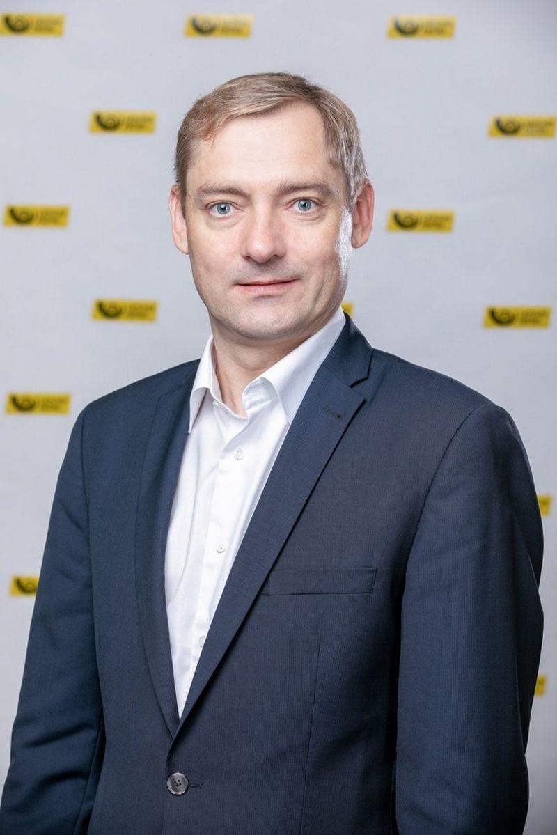 Norbertas Žioba, Lietuvos pašto rinkodaros ir pardavimų direktorius. BenDrovės nuotr.