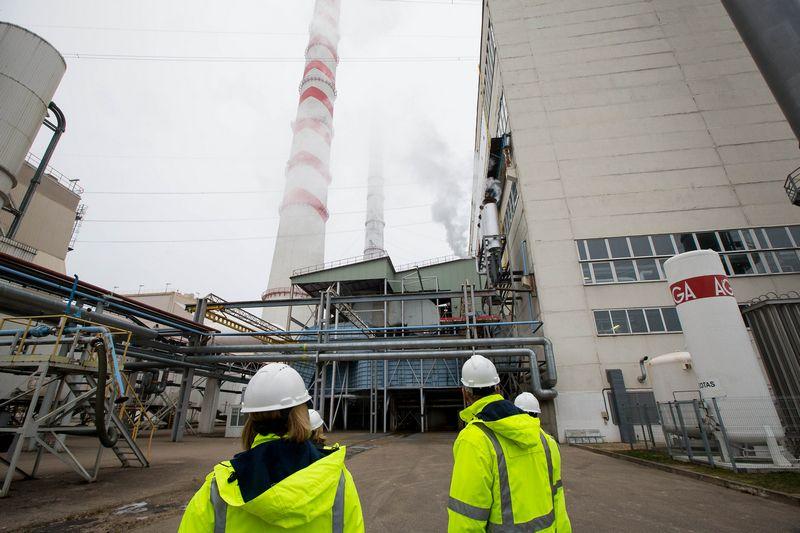 """Lietuvos elektrinė, """"Lietuvos energijos gamybos"""" padalinys Elektrėnuose. Vladimiro Ivanovo (VŽ) nuotr."""