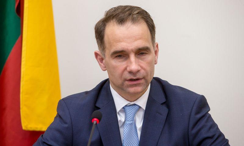 Rokas Masiulis, susisiekimo ministras. Vladimiro Ivanovo (VŽ) nuotr.