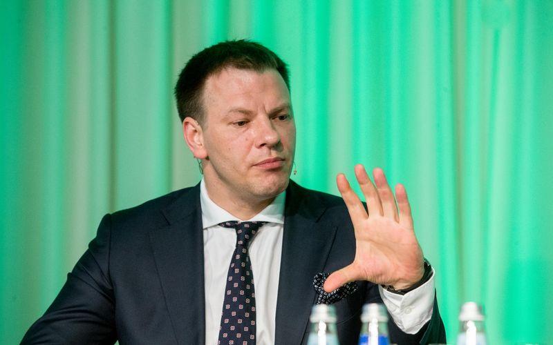 Finansų ministras Vilius Šapoka. Juditos Grigelytės (VŽ) nuotr.
