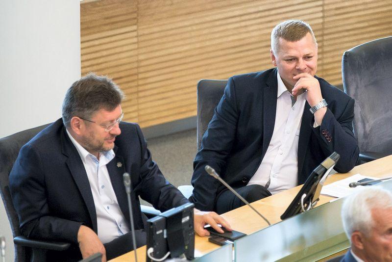 Valerijus Simulikas, Kęstutis Smirnovas. Žygimanto Gedvilos (15min.lt) nuotr.