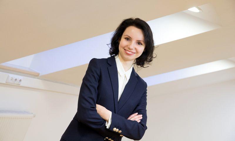 """Natalija Norvilė, darbuotojų atrankos ir vertinimo įrankių bei paslaugų įmonės """"Addelse"""" ekspertė. Juditos Grigelytės (VŽ) nuotr."""