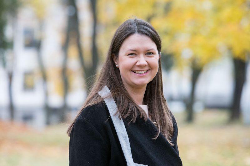 KOG rinkodaros ir komunikacijos mokslų instituto vadovė Eleonora Šeimienė. Juditos Grigelytės (VŽ) nuotr.