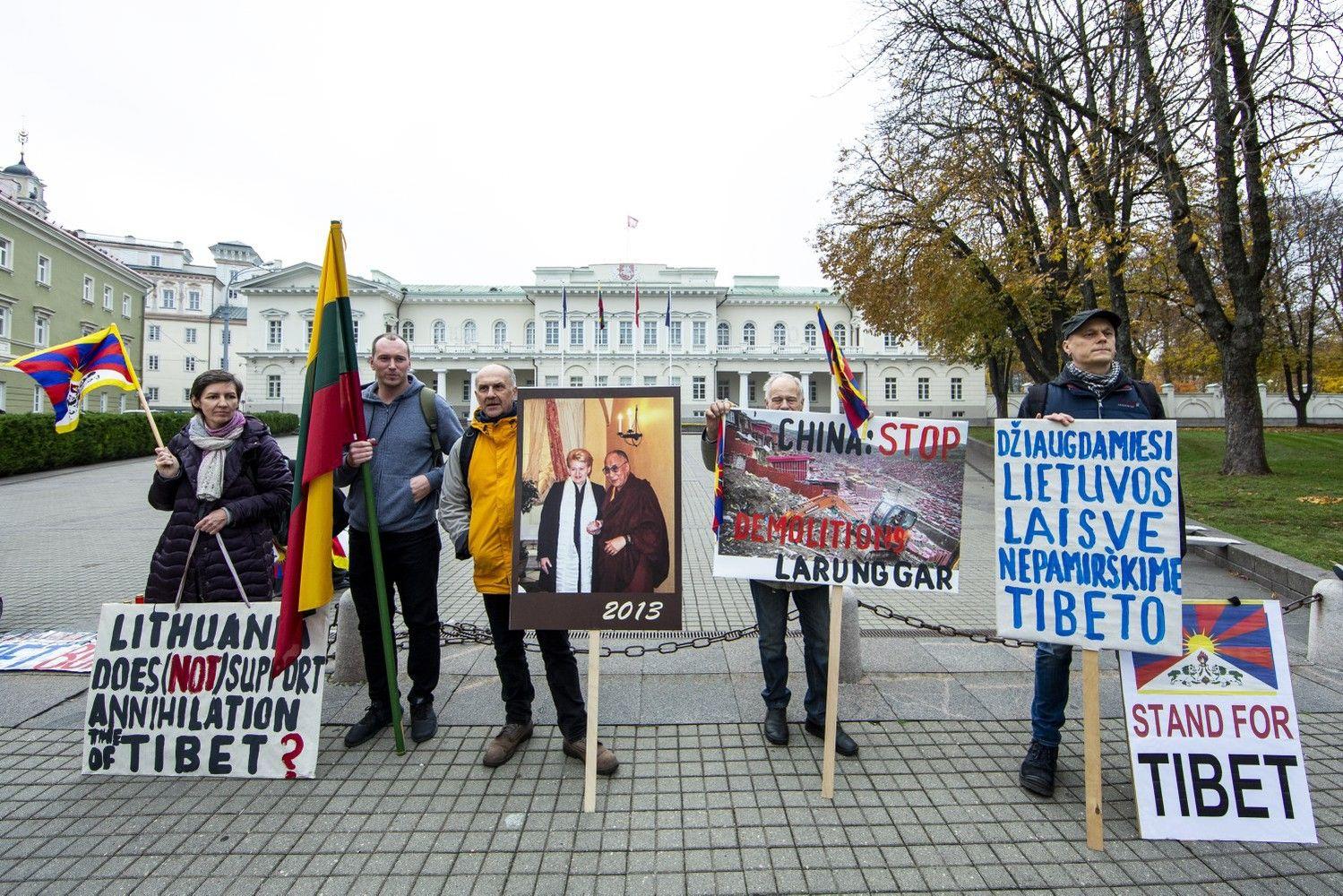 Aktyvistai D. Grybauskaitės darbotvarkėje Kinijoje pasigenda dėmesio žmogaus teisėms