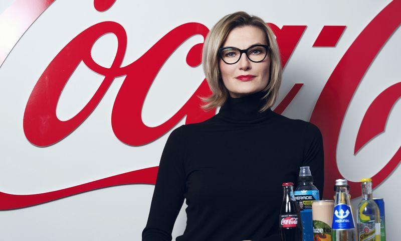 """""""Pritariu nuomonei, kad sėkmingo vadovo vaidmuo yra būti geru moderatoriumi, turinčiu vizionieriaus geną"""", – sako Ieva Matulaitienė, """"The Coca-Cola Company"""" vadovė Baltijos šalyse. Asmeninio archyvo nuotr."""