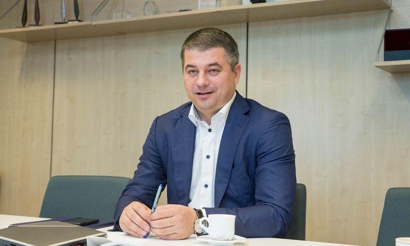 """Gediminas Žiemelis, kompensacijų išieškotojų įmonės """"Skycop"""" bendraturtis. Juditos Grigelytės (VŽ) nuotr."""