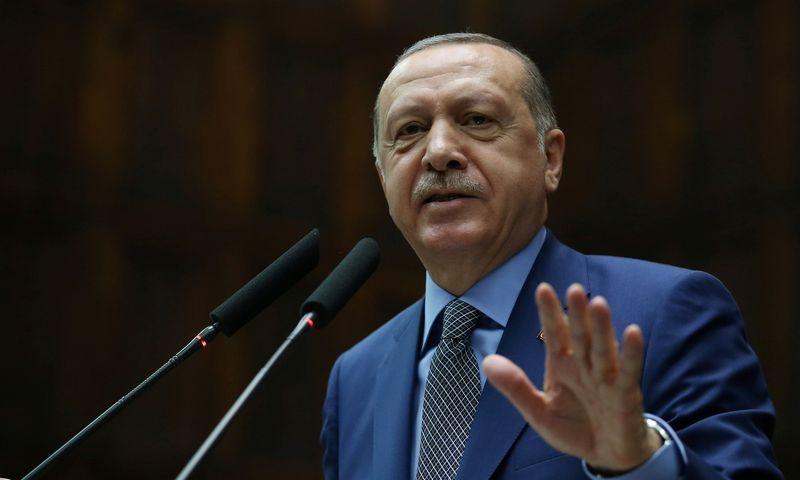 """Recepas Tayyipas Erdoganas, Turkijos prezidentas. Murato Cetinmuhurdaro (""""Reuters"""" / """"Scanpix"""") nuotr."""