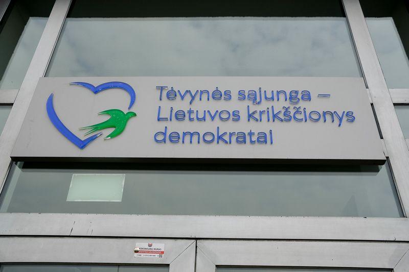Tėvynės sąjungos-Lietuvos krikščionių demokratų būstinė. Vladimiro Ivanovo (VŽ) nuotr.