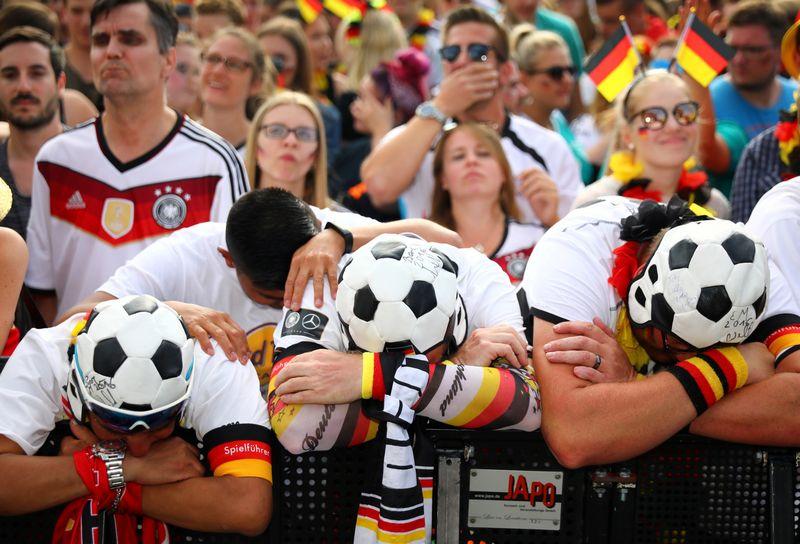 """Beveik ketvirtadalis apklaustųjų manė, kad 2018 m. pasaulio futbolo čempionatą Rusijoje laimės Vokietija. """"Reuters"""" nuotr."""