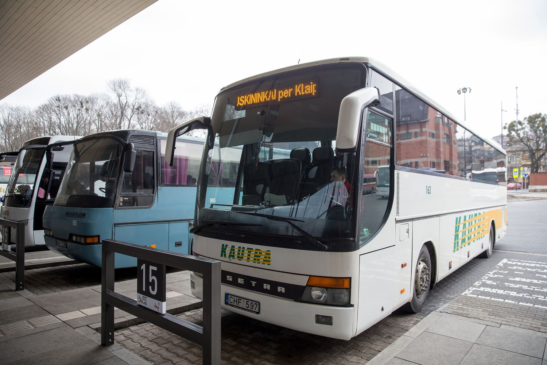 Kaune ruošiamasi įdiegti naują viešojo transporto programėlę