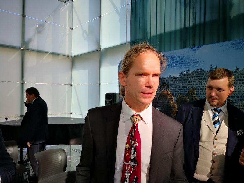 "Kalevas Pihlas, ""SK ID Solutions"" direktorius. Gintauto Degučio  (VŽ) nuotr."
