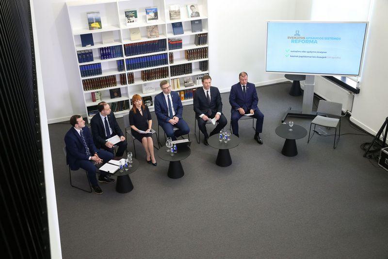 Vyriausybė. Vladimiro Ivanovo (VŽ) nuotr.