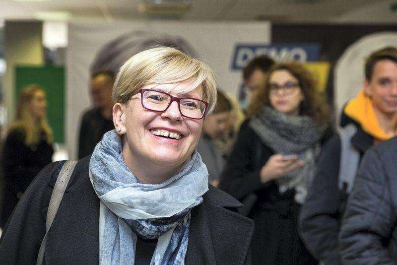 Ingrida Šimonytė tapo konservatorių remiama kandidate į prezidentus. Josvydo Elinsko (15min.lt) nuotr.