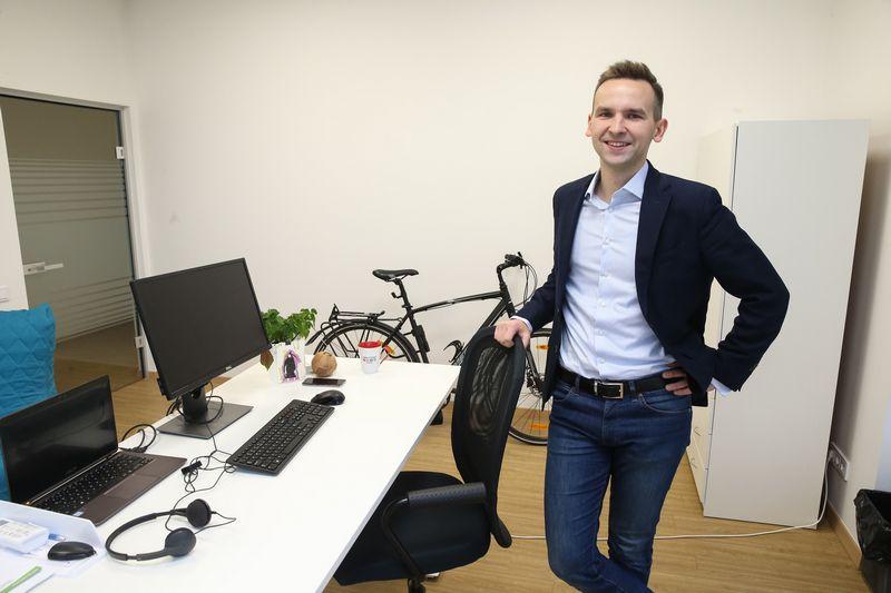 """Petras Butėnas, MB """"Simplanova"""" direktorius. Vladimiro Ivanovo (VŽ) nuotr."""
