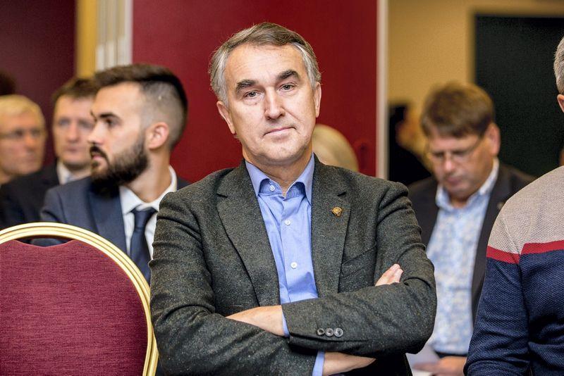 """Petras Auštrevičius, Europos Parlamento narys. Mariaus Vizbaro (""""15min"""") nuotr."""