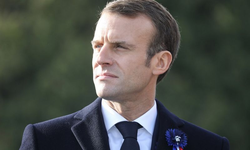 "Prancūzijos prezidentas Emmanuelis Macronas. Ludovic Marin (""Reuters"" /""Scanpix"" ) nuotr."