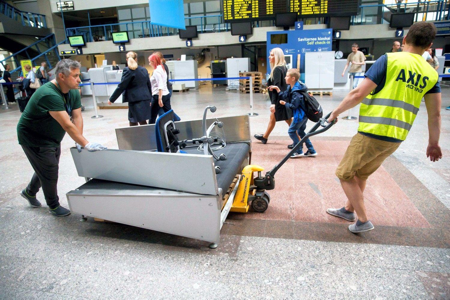"""R. Masiulis: Lietuvos oro uostai """"braška"""", todėl juos reikia atnaujinti"""