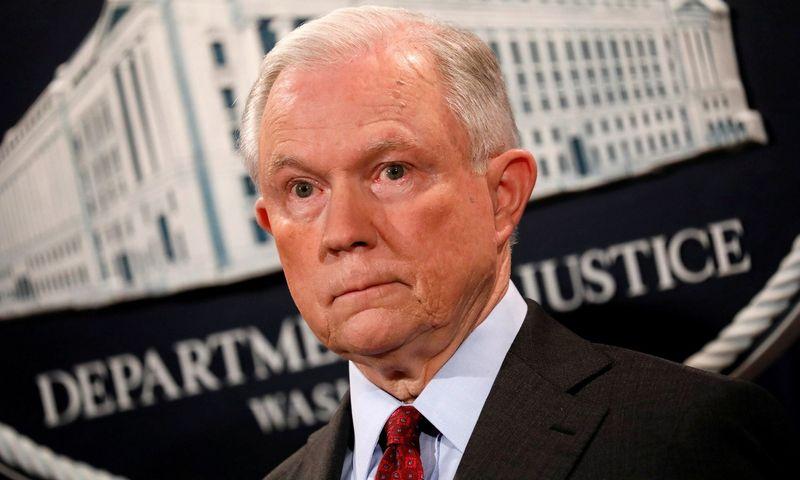 Jeffas Sessionsas. Reuters / Scanpix nuotr.