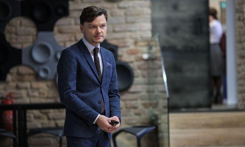 """Eligijus Kajieta, pareigas paliekantis """"Korn Ferry Hay Group"""" generalinis direktorius Baltijos šalims. Vladimiro Ivanovo (VŽ) nuotr."""