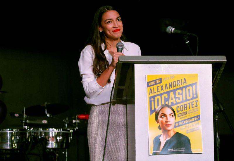 "Alexandria Ocasio-Cortez.Andrew Kelly (""Reuters"" / ""Scanpix"") nuotr."