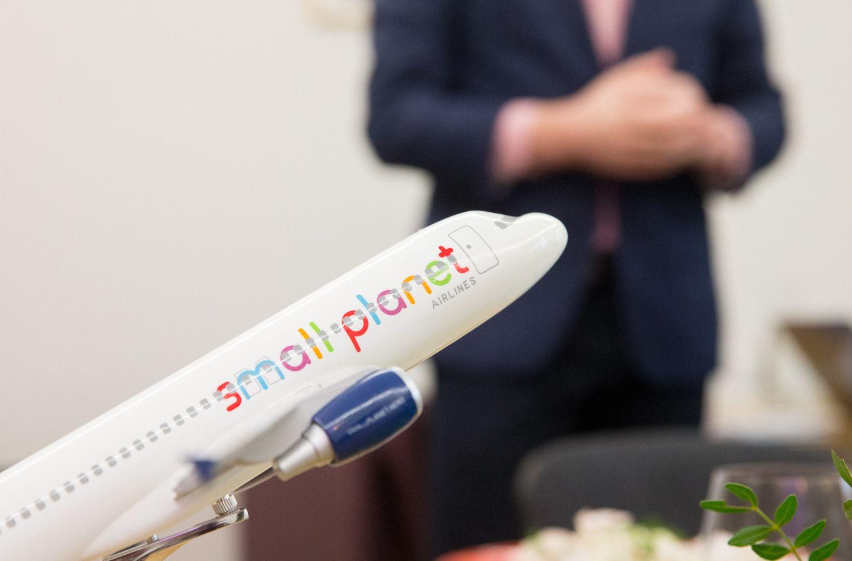 """""""Novaturas"""" turi """"planą B"""" blogojo scenarijaus dėl """"Small Planet Airlines"""" atvejui"""