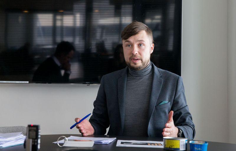 """Karolis Lebednikas, """"Lidl Lietuvos"""" Kokybės užtikrinimo departamento vadovas. Juditos grigelytės (VŽ) nuotr."""