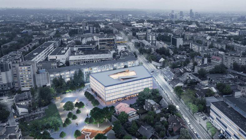 """""""Vilbra"""" Vilniaus Naujamiestyje į verslo centrą investuoja 20 mln. Eur"""