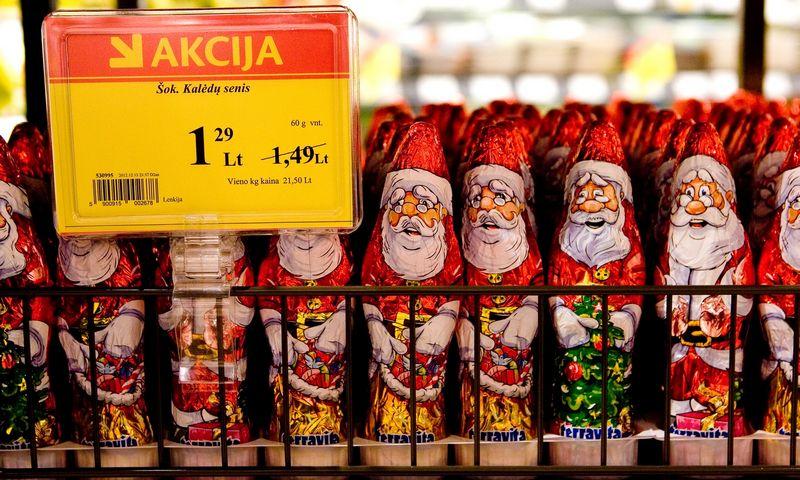 Kalėdinis laikotarpis leidžia pagerinti visų metų rezultatus. Juditos Grigelytės (VŽ) nuotr.
