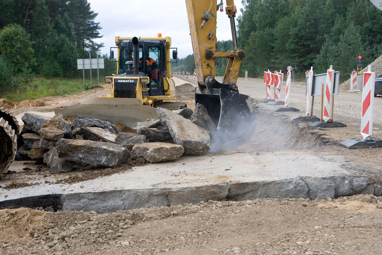 Paskelbtas antrasis kelio Vilnius-Utena rekonstrukcijos konkursas
