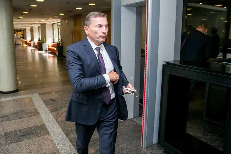 """Gintaras Balčiūnas, """"Achemos grupės"""" valdybos pirmininkės pavaduotojas. Juliaus Kalinsko (""""15min"""") nuotr."""