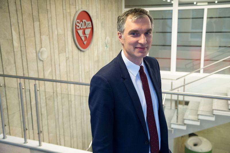 """Mindaugas Sinkevičius baigė nuo 2010-ųjų trukusį darbą """"Sodros"""" direktoriaus pareigose. Vladimiro Ivanovo (VŽ) nuotr."""