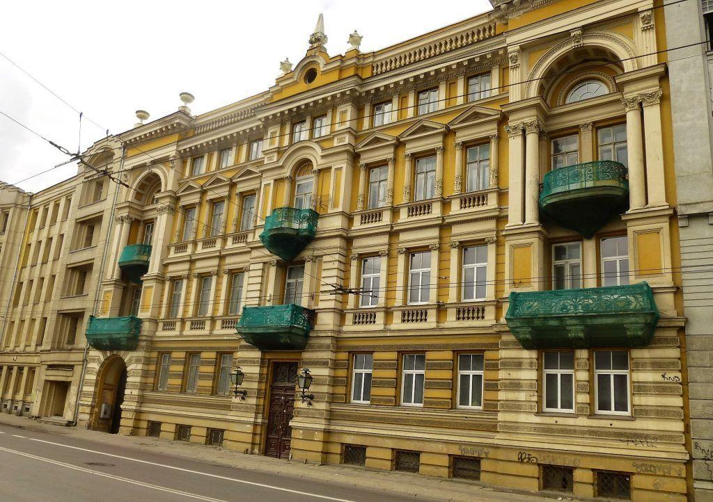 Vilniaus centre už 2,8 mln. Eur parduodaIgno Parčevskio namą