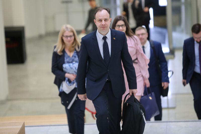 Sveikatos apsaugos ministras Aurelijus Veryga. Vladimiro Ivanovo (VŽ) nuotr.