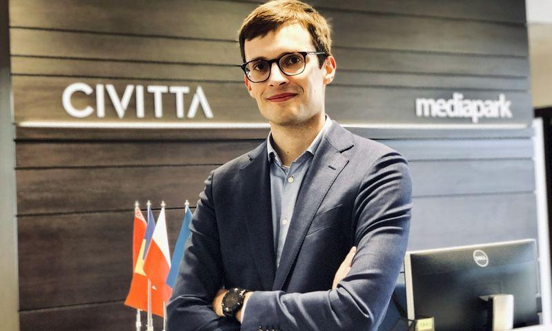 """Ervinas Škikūnas, """"Civitta"""" asocijuotas partneris."""