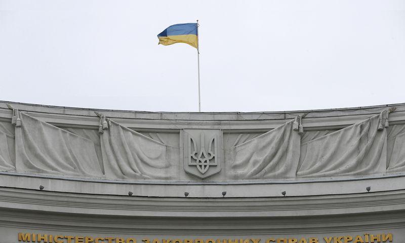 """Budapešto veiksmai, kuriais kėsinamasi į Ukrainos vientisumą, – """"tai iš kito šono ateinantis spaudimas Kijevui. VALENTYNO OGIRENKOS (""""Reuters"""" / """"Scanpix"""") nuotr."""
