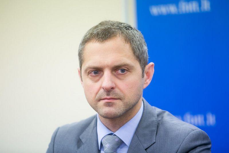 """Dainius Baršauskas FNTT Vilniaus apygardos valdybos viršininkas Juliaus Kalinsko (""""15min"""" / """"Scanpix"""") nuotr."""