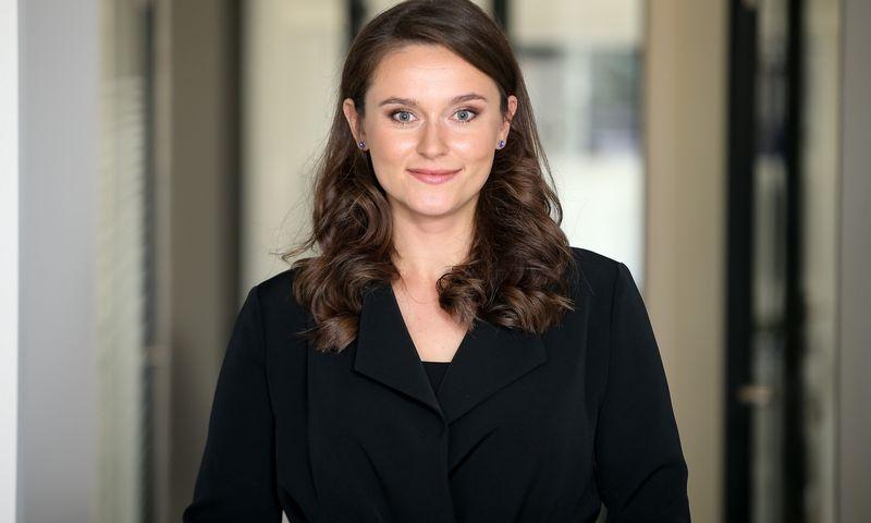 """Karolina Laurynaitė, asocijuotoji """"Jurex"""" partnerė, advokatė. Vladimiro Ivanovo (VŽ) nuotr."""