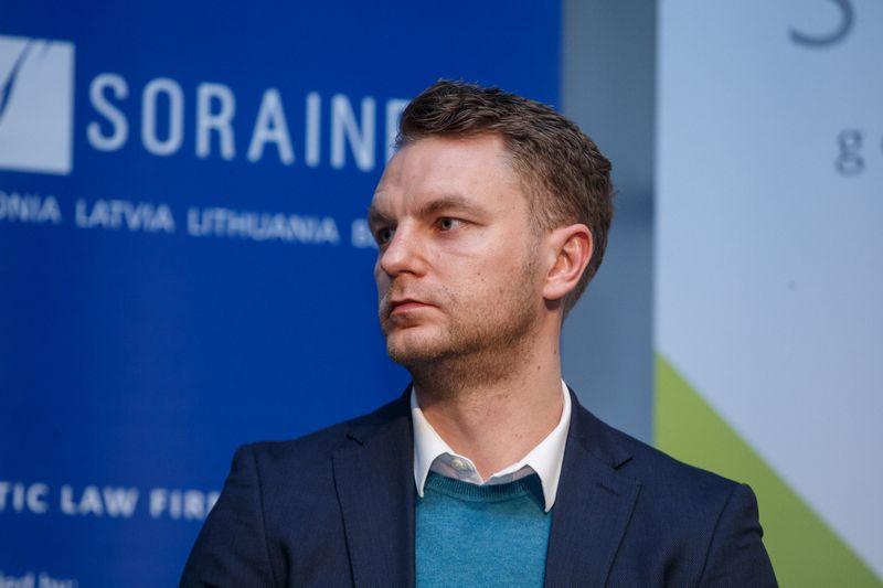 """Martins Sulte, Latvijos paskolų platformos """"Mintos"""" vadovas. Vladimiro Ivanovo (VŽ) nuotr."""