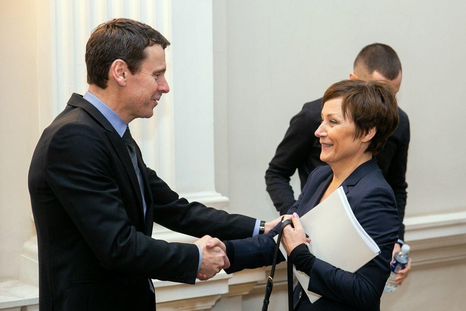 LNK vadovė Z. Sarakienė: susitikimai su V. Gapšiu vyko kaip su kitais politikais