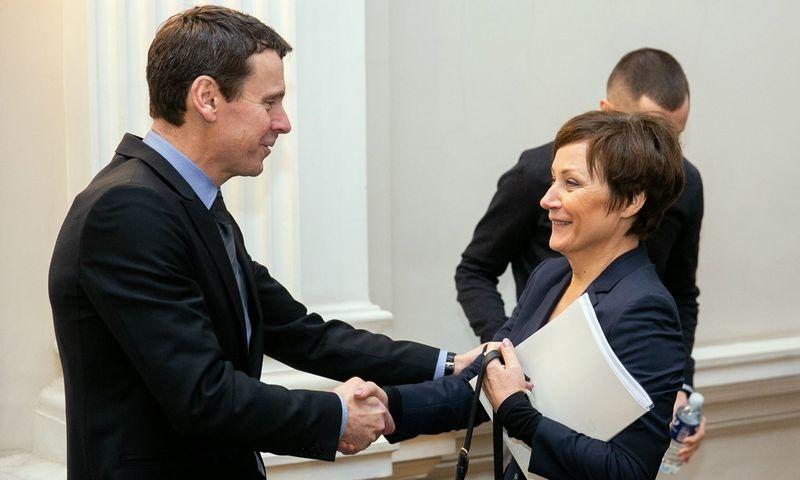 Raimondas Kurlianskis ir Zita Sarakienė. Žygimanto Gedvilos (VŽ) nuotr.