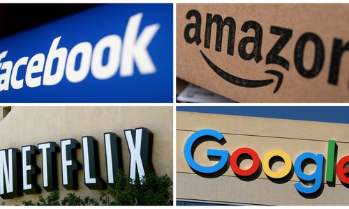 JAV technologijų milžinų akcijoms prognozuoja brangimą