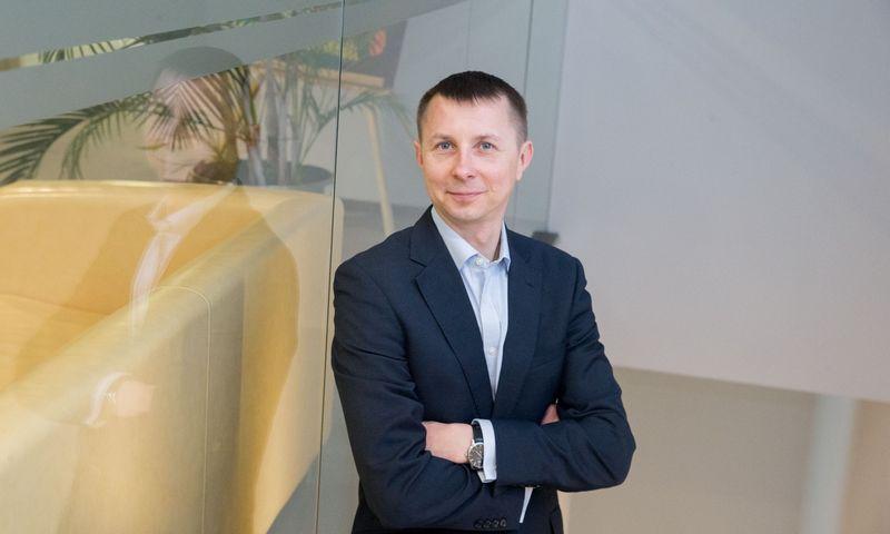 """Arvydas Jacikevičius, """"INVL Asset Management"""" fondų valdytojas. Vladimiro Ivanovo (VŽ) nuotr."""