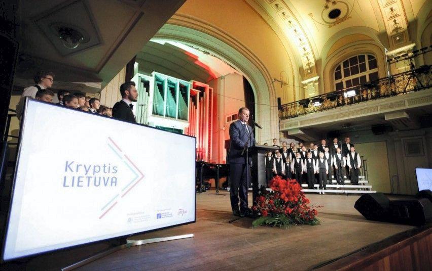 """Už emigrantų skatinimą sugrįžti apdovanota Tauragės savivaldybė, """"Nasdaq Vilnius"""""""