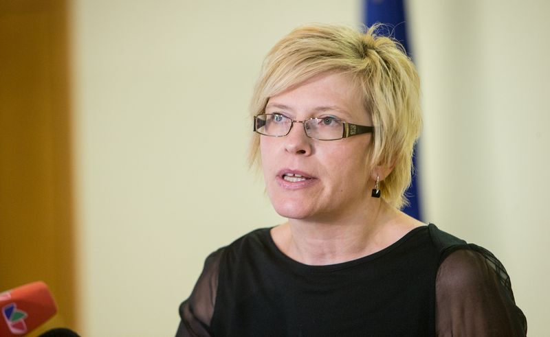 Ingrida Šimonytė, Seimo Audito komiteto pirmininkė. Juditos Grigelytės (VŽ) nuotr.