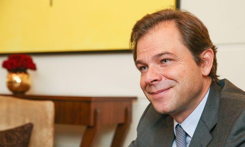 Antonio Vicente, Europos Sąjungos komisaro Carloso Moedaso, atsakingo už mokslinius tyrimus, mokslą ir inovacijas, kabineto vadovas. Vladimiro Ivanovo (VŽ) nuotr.
