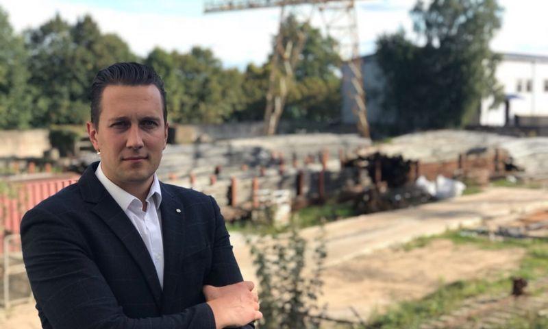 """Robertas Buckus, """"Kaunas Metal"""" vadovas. Įmonės nuotr."""