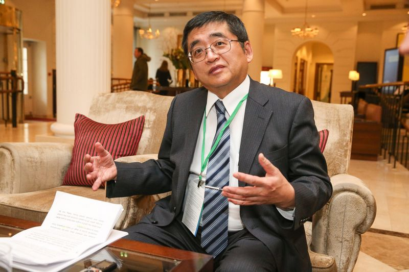 Masamichi Kono, EBPO generalinio sekretoriaus pavaduotojas. Vladimiro Ivanovo (VŽ) nuotr.