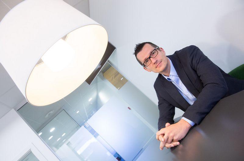 Liudas Rimkus, SEB banko Rinkodaros departamento direktorius. Juditos Grigelytės (VŽ) nuotr.